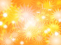 Abstract star Worm color Blur background Design vector illustration