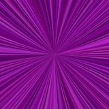 Abstract starburst background from radial stripes. In purple tones Royalty Free Stock Photography