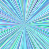 Abstract starburst background from radial stripes. Cyan abstract starburst background from radial stripes Stock Photos