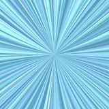 Abstract starburst background from radial stripes. Abstract starburst background from radial light blue stripes Royalty Free Stock Photos