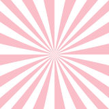 Abstract starburst background from radial stripes Stock Images