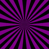 Abstract starburst background from radial stripes. Purple and black abstract starburst background from radial stripes - vector graphic Royalty Free Stock Photos