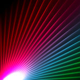Abstract starbust effect background Royalty Free Stock Photography