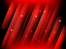 Abstract starfield background. Abstract red vector starfield christmas postcard background stock illustration