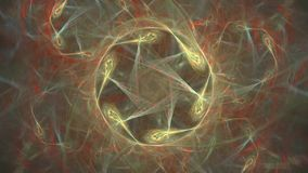 Abstract starlike pattern stock footage