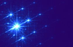 Abstract starry background Royalty Free Stock Photography