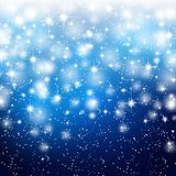 Abstract starry background. Vector illustration Stock Photos