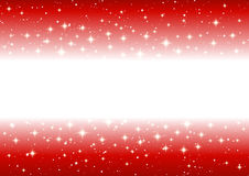 Abstract starry border Stock Photo