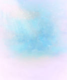 Abstract starry fantasy background. Abstract fantasy blue sky background with white clouds and stars royalty free illustration