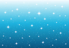 Abstract starry lights background. For Your design Stock Image