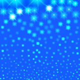 Abstract starry night Stock Image