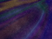 Abstract starry night sky Stock Images