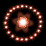 Abstract stars Royalty Free Stock Photography