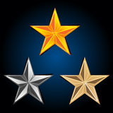 Abstract  stars Royalty Free Stock Photos