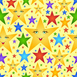 Abstract stars Stock Photo