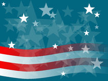 Free Abstract Stars And Stripes Graphic Stock Photo - 21256710