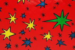 Abstract stars background Stock Photography