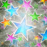 Abstract stars background Royalty Free Stock Photo