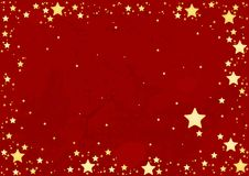 Abstract Stars Background royalty free illustration