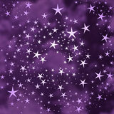 Abstract stars background Royalty Free Stock Photos