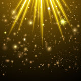 Abstract stars background Royalty Free Stock Image