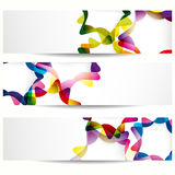 Abstract stars banner. Royalty Free Stock Images