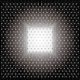 Abstract stars on black  background. Royalty Free Stock Photo