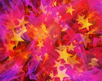 Abstract stars burst background. S. shining shapes Royalty Free Stock Photo
