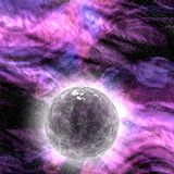Abstract stars nebula generated texture Royalty Free Stock Image