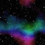 Abstract stars nebula seamless generated hires texture Stock Photo