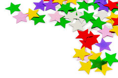 Abstract stars pattern Royalty Free Stock Photos