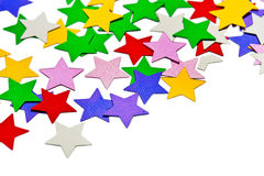Abstract stars pattern Stock Image