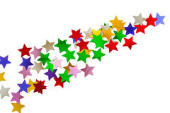 Abstract stars pattern Stock Photography