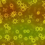 Abstract stars seamless multilayer background Royalty Free Stock Photography