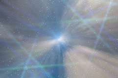 Abstract stars sky background Stock Photography