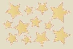Abstract stars Stock Photos
