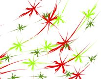Abstract Stars Xmas Background Royalty Free Stock Photos