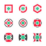 Abstract Startup Business Symbol Global Media Company Innovation Vector Icon. EPS10 Royalty Free Stock Photos