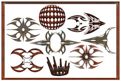 abstract steampunk objects Royalty Free Stock Photo