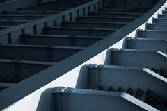 An abstract steel construction Stock Images