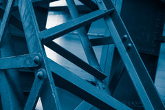Abstract steel construction Royalty Free Stock Images