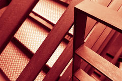 Abstract steel construction Royalty Free Stock Photo
