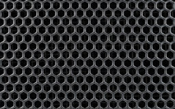 Abstract Steel or Metal Pattern with Cells. Abstract Steel or Metal Textured Pattern with Hexagonal Cells As Industrial Background Royalty Free Stock Image