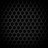 Abstract Steel or Metal Textured Pattern with Hexagonal Cells. As Industrial Background royalty free illustration