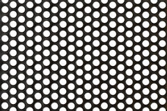 Abstract Steel or Metal Textured Pattern with Roun. D Cells As Industrial Background Royalty Free Stock Image