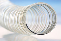 Abstract of Steel Spring Toy Stock Photography