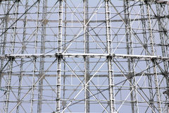 Abstract steel truss Royalty Free Stock Photography