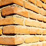 Abstract step   brick in  italy old wall and texture material th Stock Images
