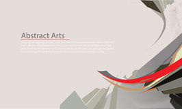 Abstract,step up options, web design, banner template Royalty Free Stock Image
