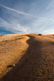 Abstract steppe landscape Royalty Free Stock Photography